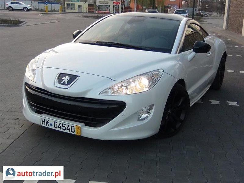 Peugeot RCZ 2011 coupe 1.6 156 KM
