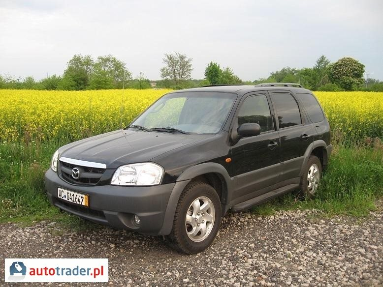 Mazda Tribute 2001 2.0 124 KM