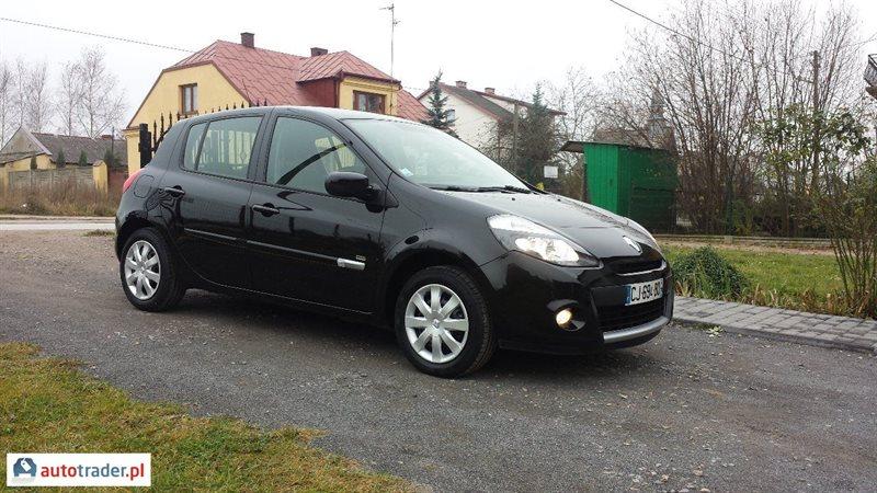 Renault Clio 2012 1.1 75 KM
