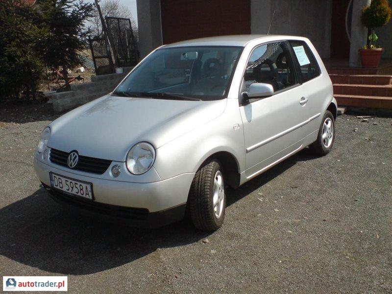 Worksheet. Volkswagen Lupo 14 benzyna 75 KM 2001r JAWOR  Autotraderpl