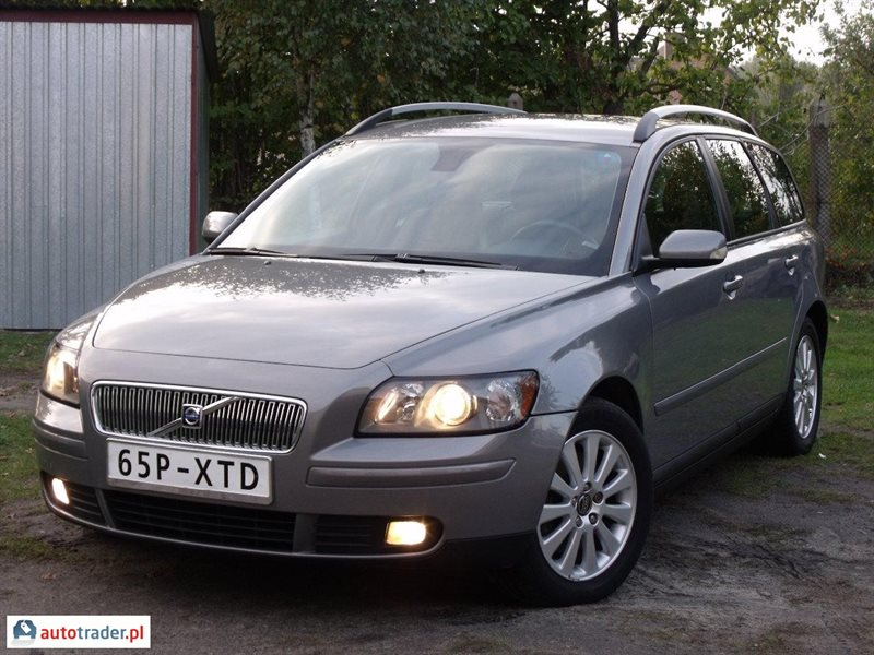 volvo v50 2 0 2005 r 2 0 diesel 136 km 2005r radom. Black Bedroom Furniture Sets. Home Design Ideas
