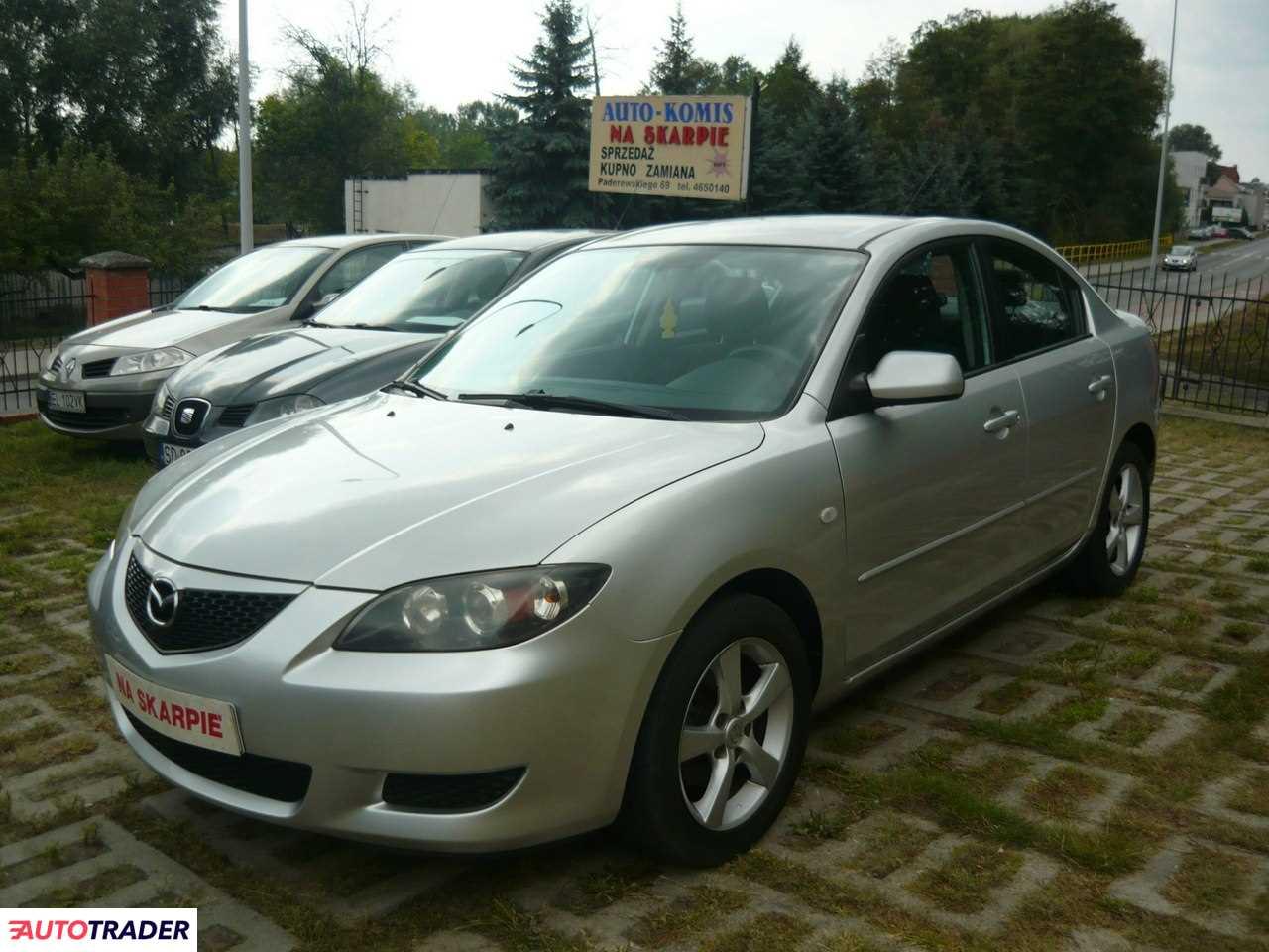 Mazda 3 2005 1.6 109 KM