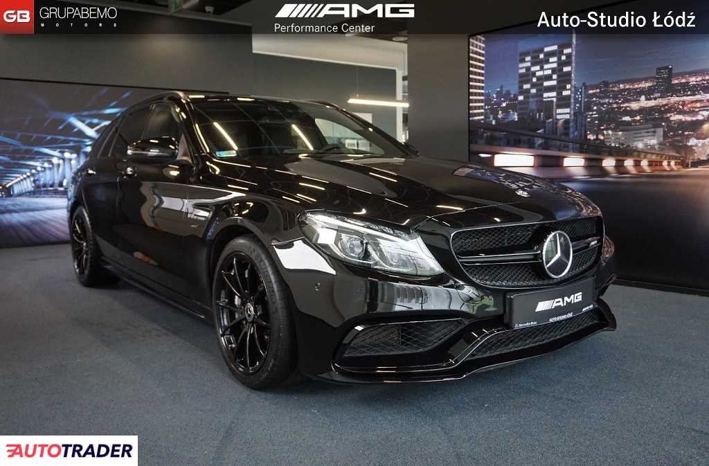 Mercedes C-klasa 2015 4.0 476 KM
