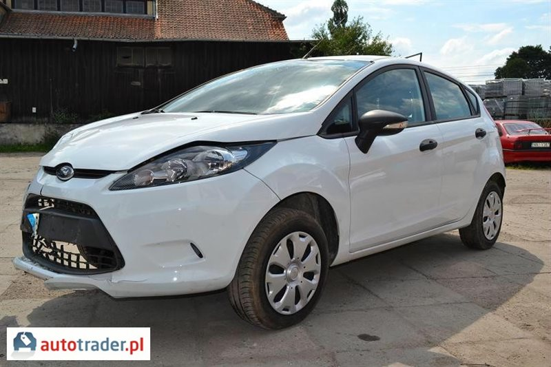 ford fiesta 1 4 diesel 70 km 2011r nidzica. Black Bedroom Furniture Sets. Home Design Ideas