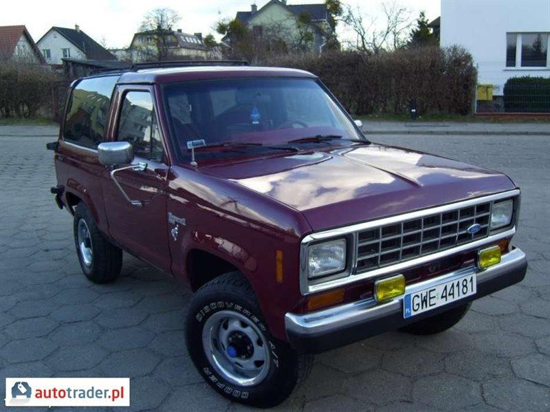 Tylko na zewnątrz Ford Bronco 2.9 140 KM 1988r. (Rumia) - Autotrader.pl BD77