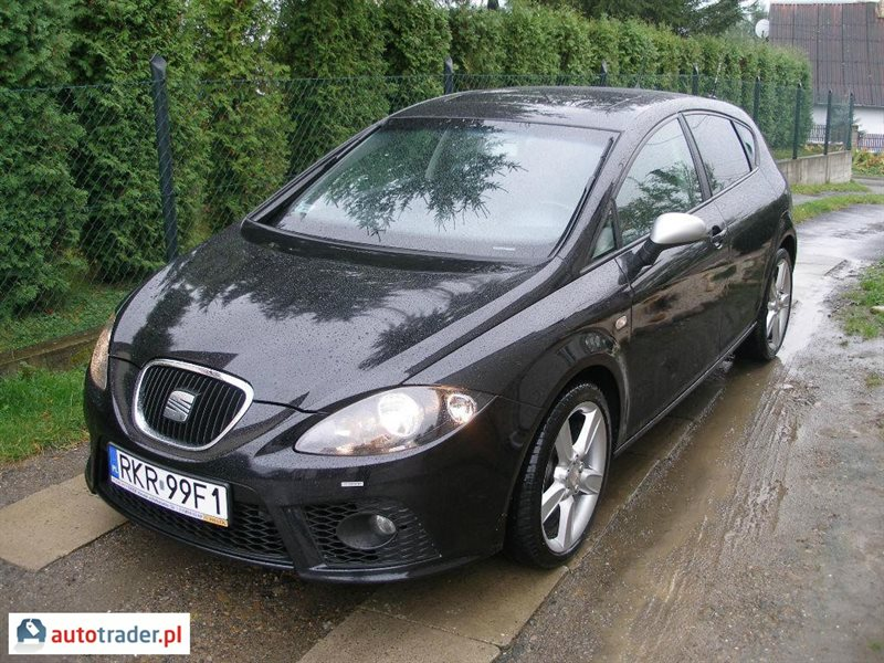 seat leon fr 170 km 2 0 2008 r 2 0 diesel 170 km 2008r. Black Bedroom Furniture Sets. Home Design Ideas