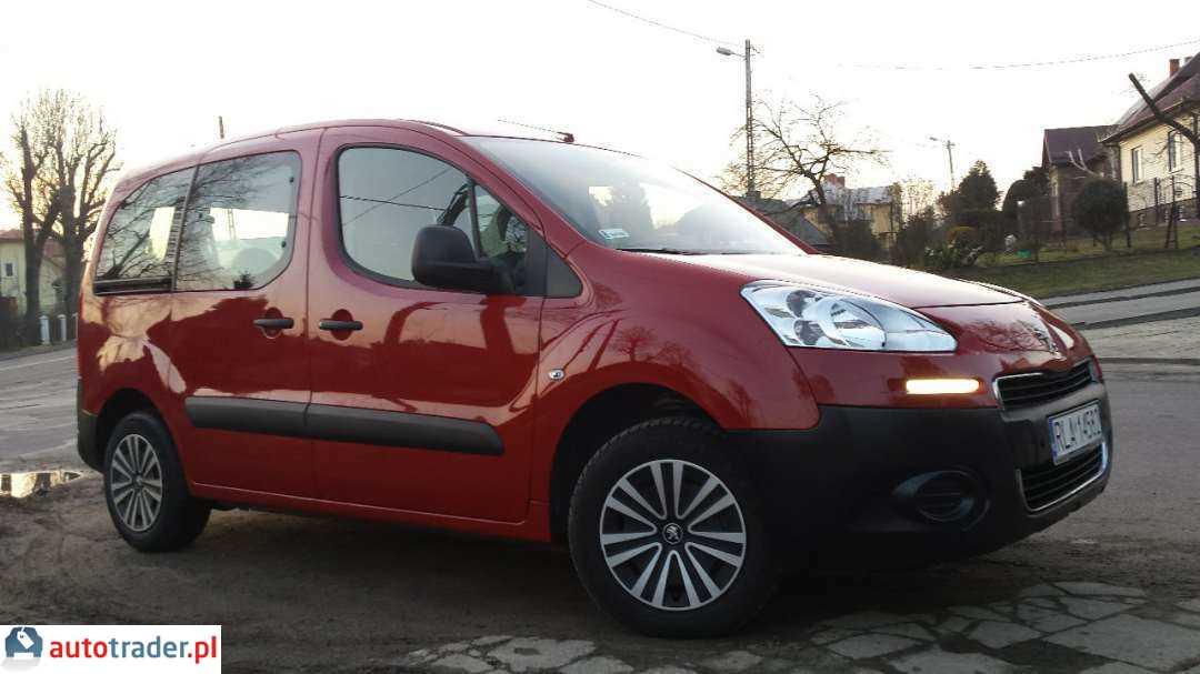 Peugeot Partner 2014 kombi 1.6 98 KM