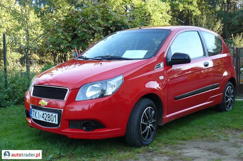 Chevrolet Aveo 2011 1.2 84 KM