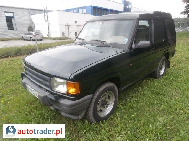 Land Rover Discovery 1995 2.5 111 KM
