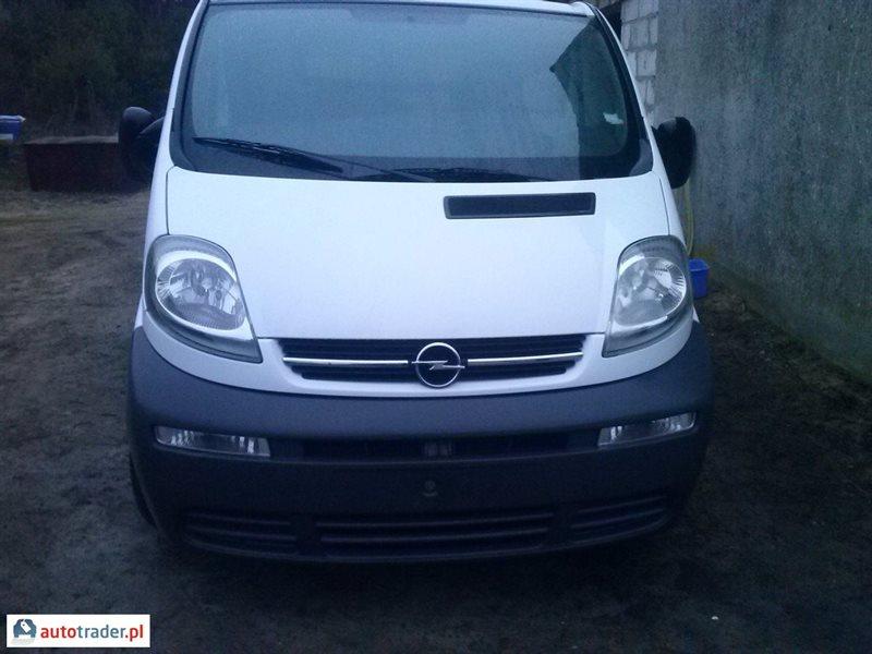 Opel Vivaro 2002 1.9