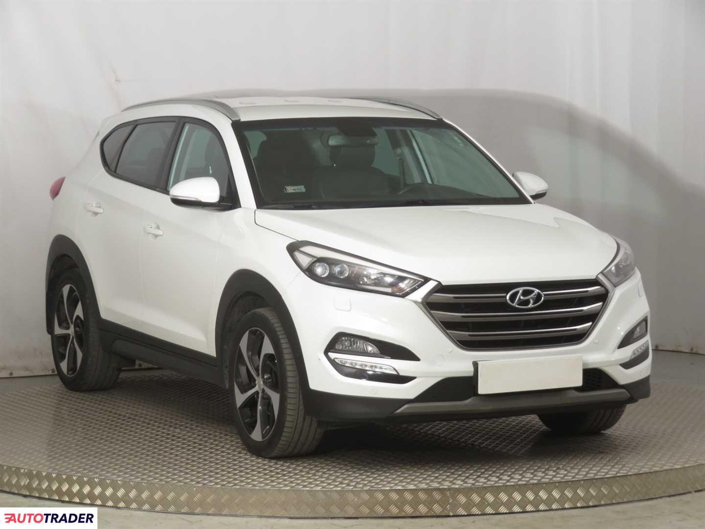 Hyundai Tucson 2017 1.7 139 KM