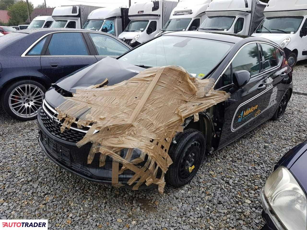 Opel Astra 2018 1.4 150 KM