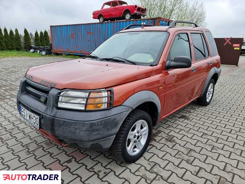 Land Rover Freelander 2000 1.8 120 KM