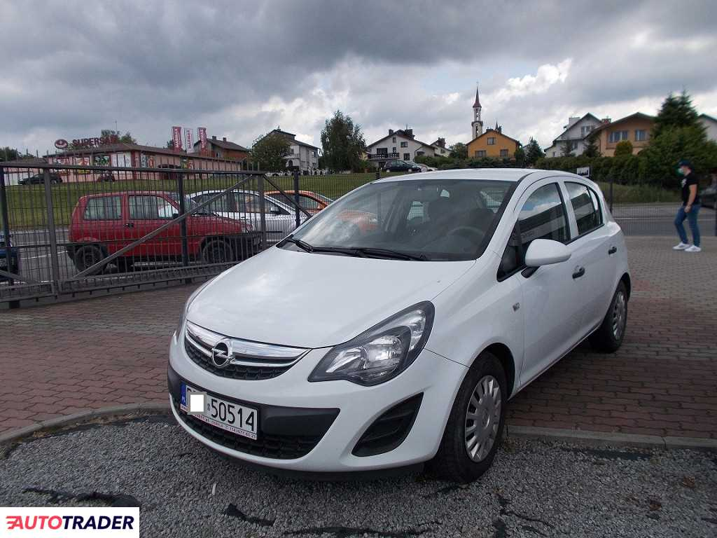 Opel Corsa 2014 1.2 86 KM