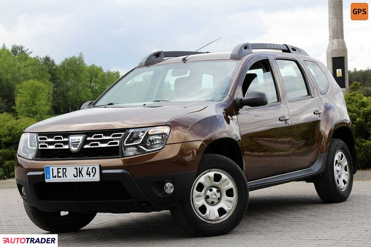 Dacia Duster 2014 1.6 105 KM