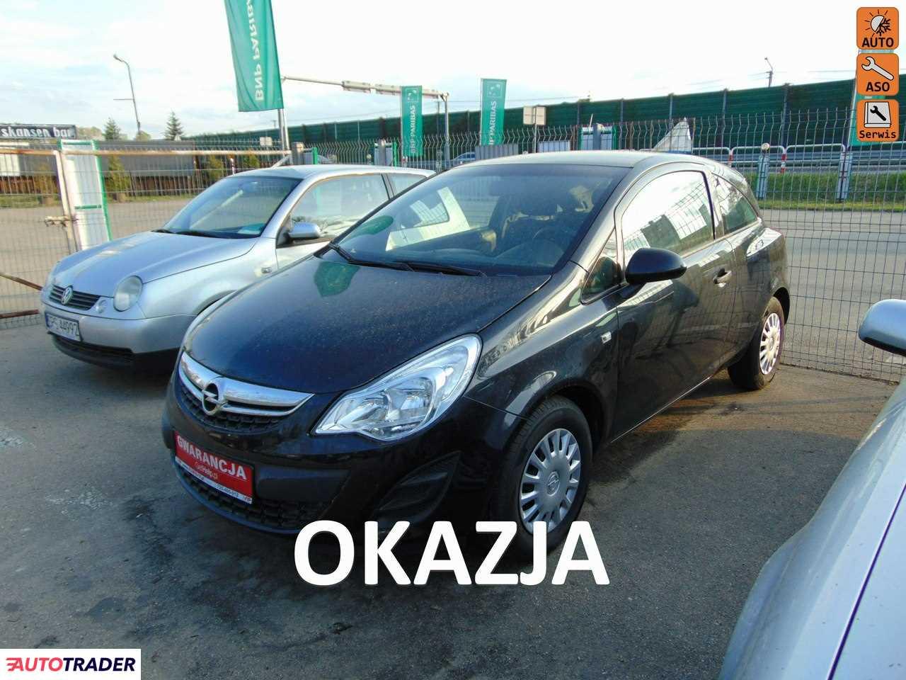 Opel Corsa 2013 1.2 85 KM