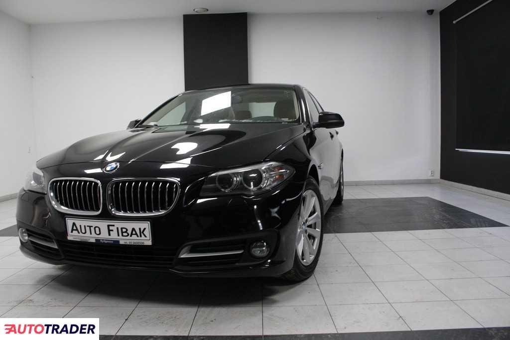 BMW 525 2016 2.0 218 KM