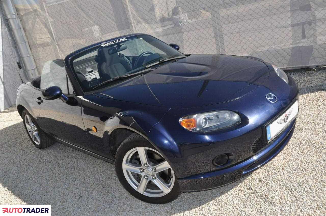 Mazda MX-5 2008 1.8 126 KM