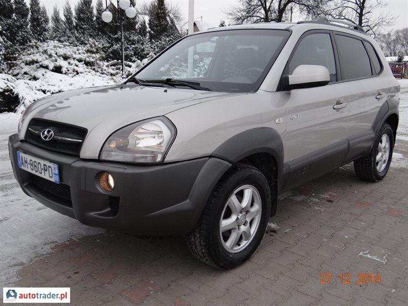 Hyundai Tucson 2005 2.0 113 KM