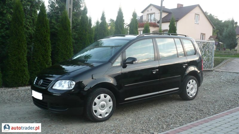 volkswagen touran 2 0 2004 r 2 0 diesel 136 km 2004r jas o d bowiec. Black Bedroom Furniture Sets. Home Design Ideas