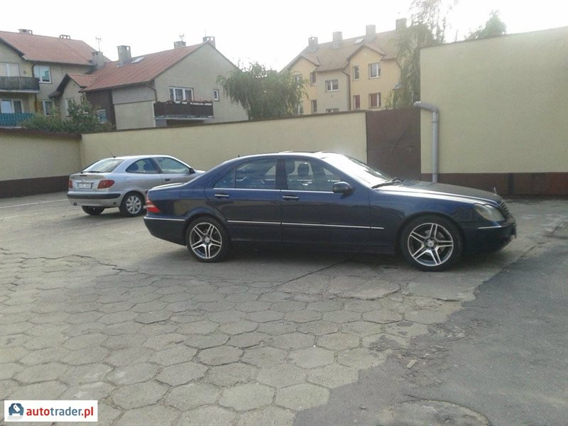 Mercedes S-klasa 1999 3.2 228 KM
