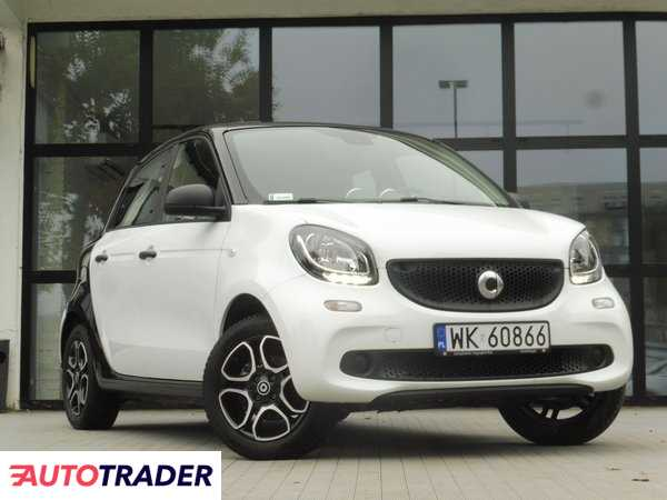 Smart ForFour 2018 1.0 71 KM