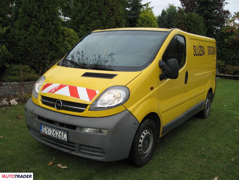 Opel Vivaro 2004 1.9