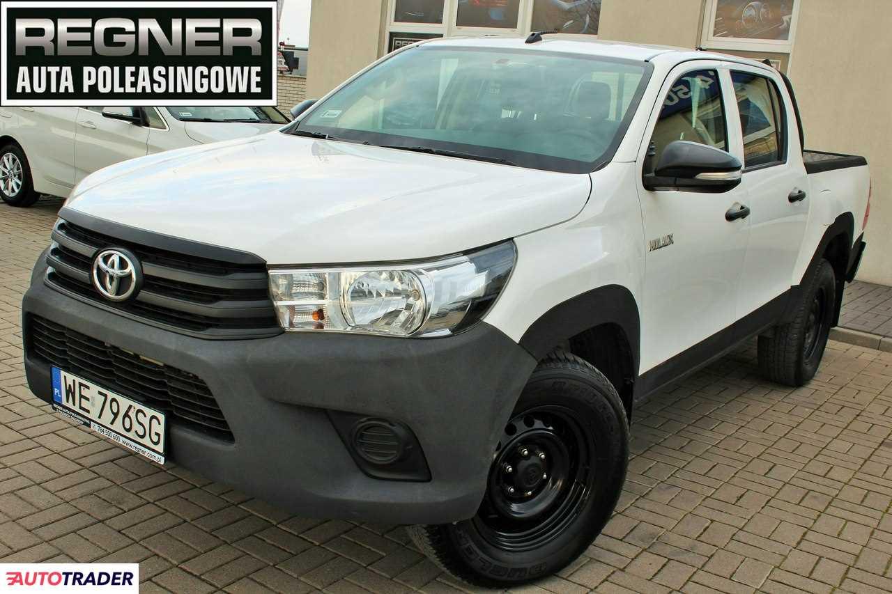 Toyota Hilux 2017 2.4 150 KM