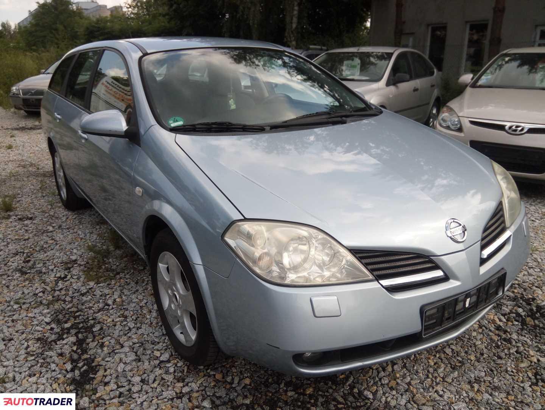 Nissan Primera 2006 0.1 1800 KM