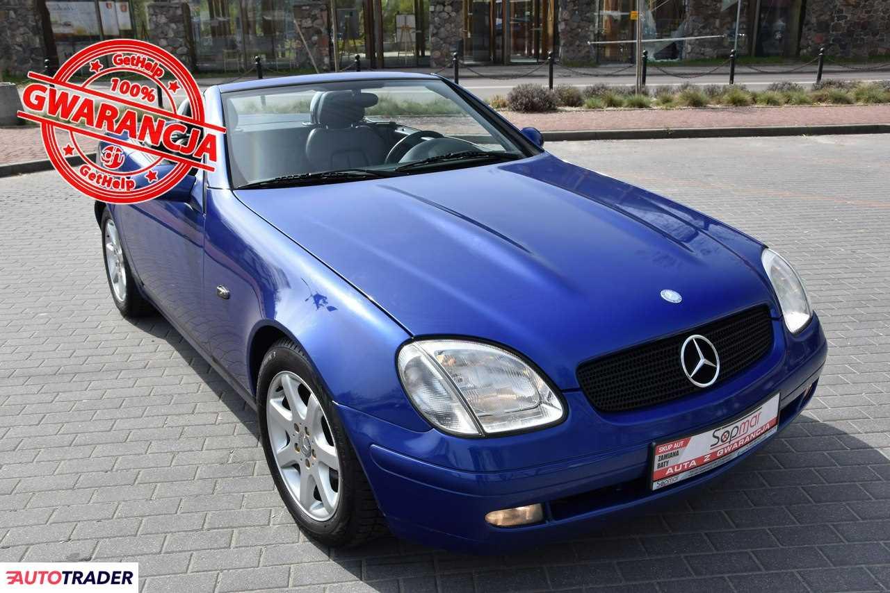 Mercedes SLK 1998 2.3 197 KM