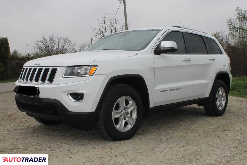 Jeep Grand Cherokee 2014 3.6 287 KM
