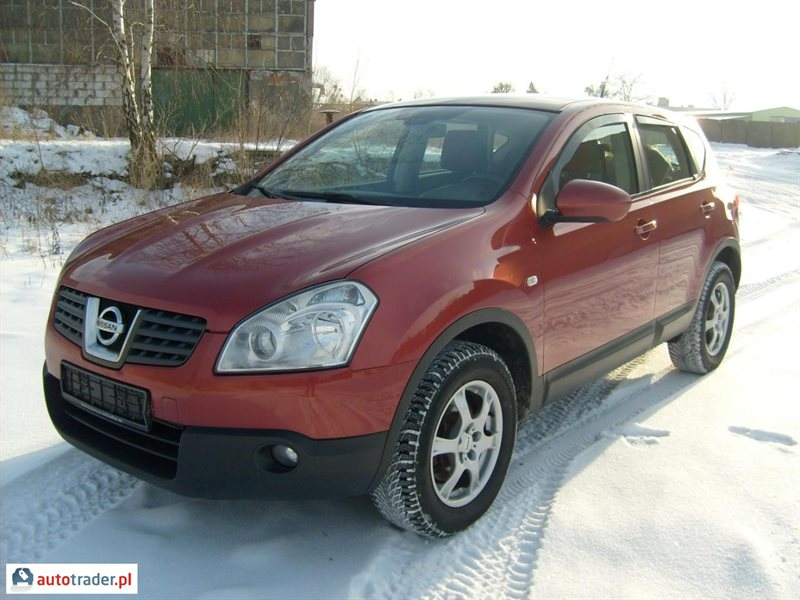 nissan qashqai 2 0 diesel 150 km 2007r d bno. Black Bedroom Furniture Sets. Home Design Ideas