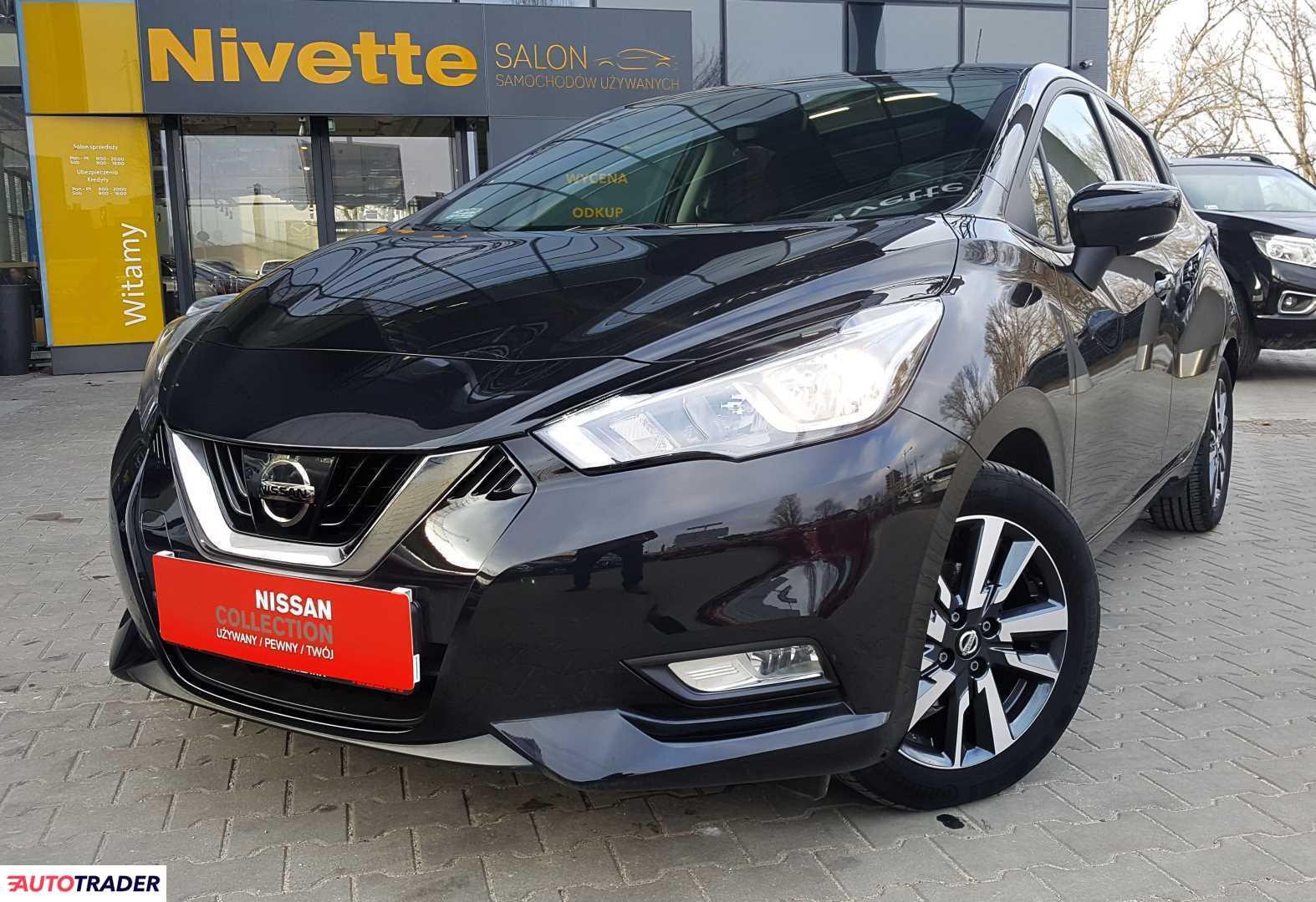 Nissan Micra 2017 0.9 90 KM