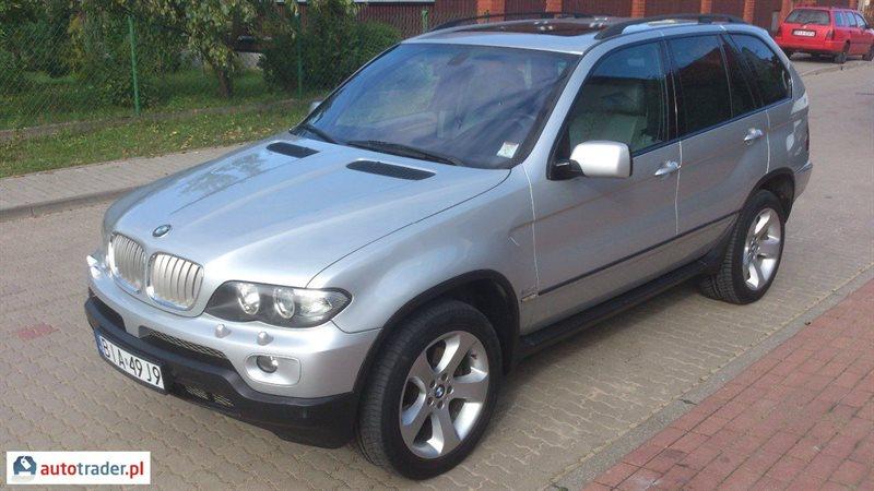 BMW X5 2004 3.0 218 KM