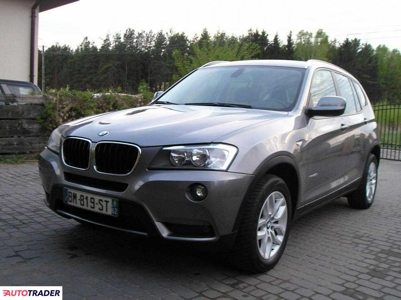 BMW X3 2011 2 184 KM