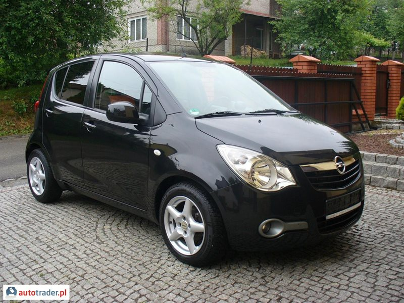 opel agila 1 2 2010 r 1 2 benzyna lpg 2010r brzoz w. Black Bedroom Furniture Sets. Home Design Ideas