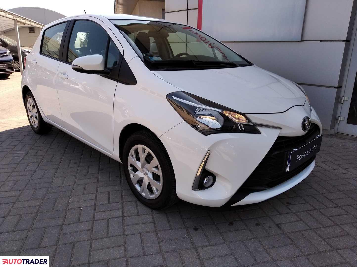 Toyota Yaris 2019 1.5 111 KM
