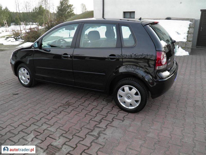 Volkswagen Polo 2006 hatchback 1.4 70 KM