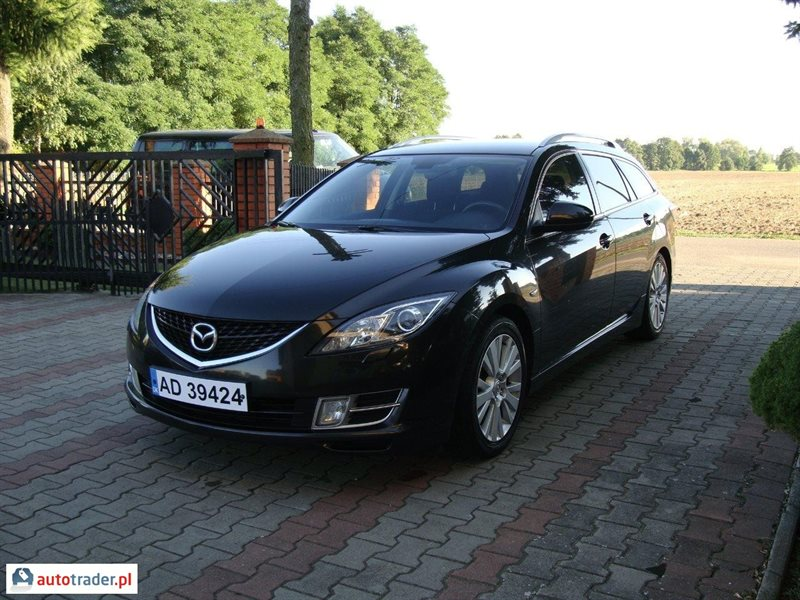 mazda 6 2 0 benzyna 147 km 2009r turek. Black Bedroom Furniture Sets. Home Design Ideas