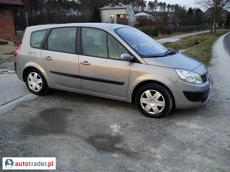 renault grand scenic 1 9 2004 r 1 9 diesel 120 km 2004r nowa d ba. Black Bedroom Furniture Sets. Home Design Ideas