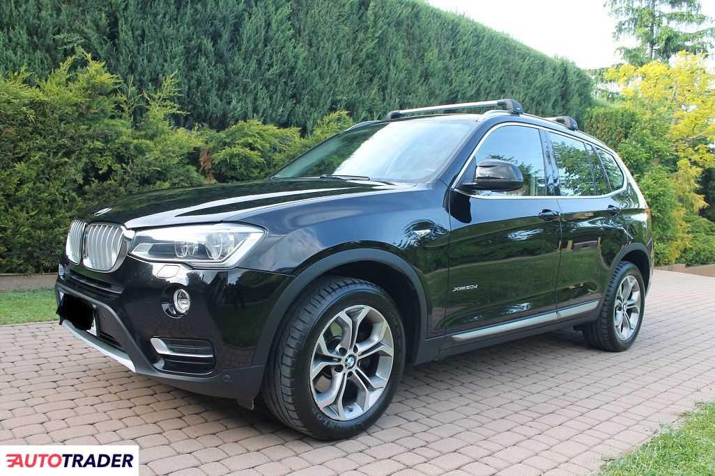 BMW X3 2016 2 190 KM