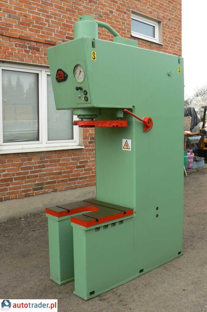 W superbly Prasa hydrauliczna wysięgowa PHW 40 Ton 600x650 mm (Łask BU83