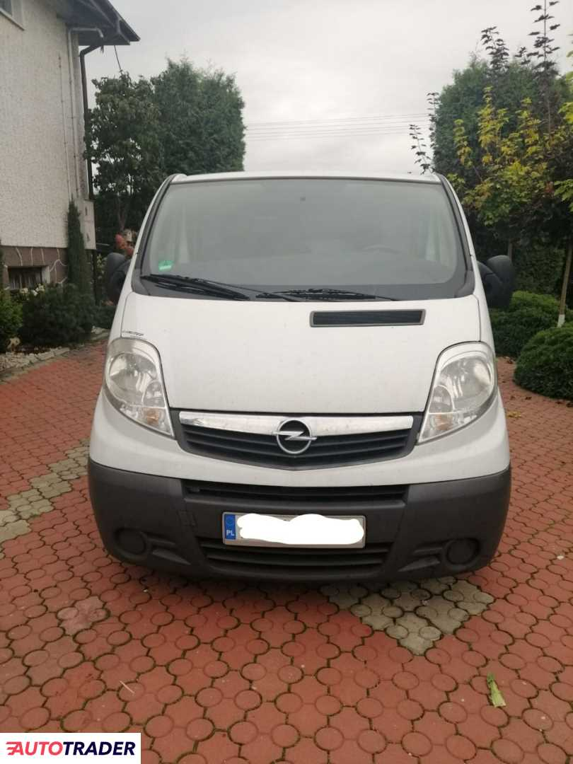 Opel Vivaro 2008 2
