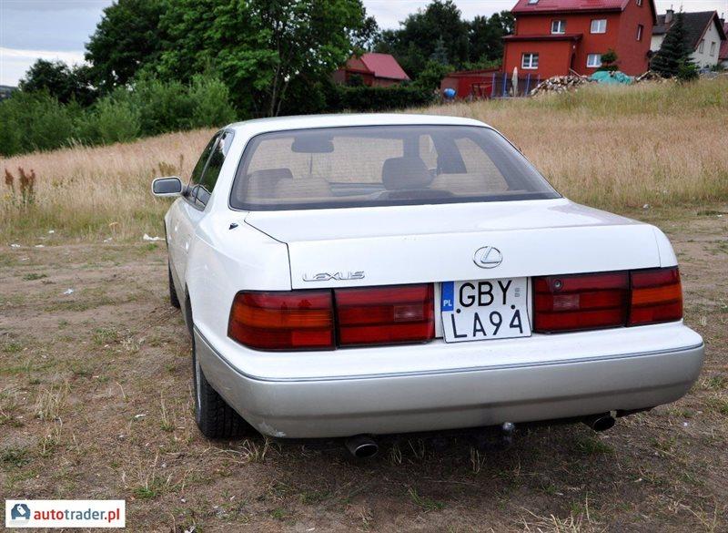 galeria lexus ls 4 0 1991 r 4 0 265 km 1991r zdj cie 3   autotrader pl