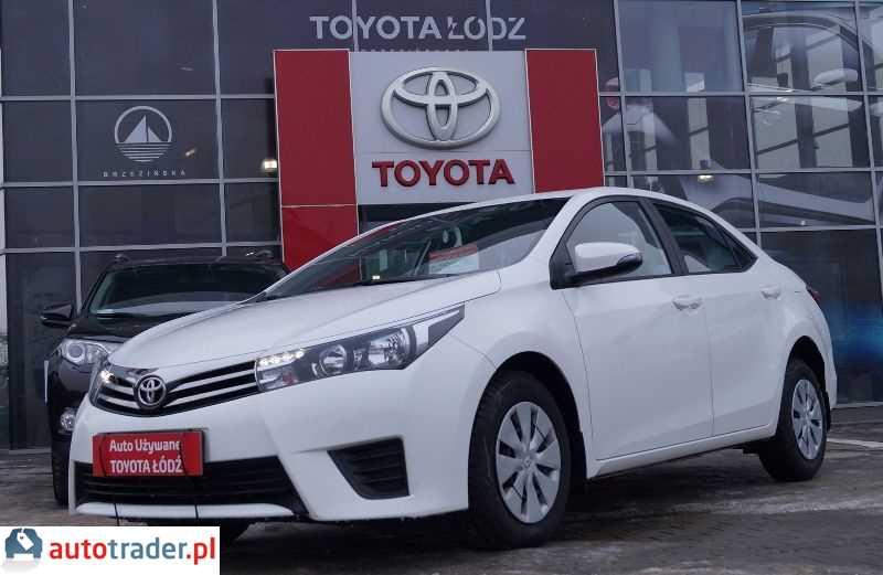 Toyota Corolla 2016 1.3 99 KM