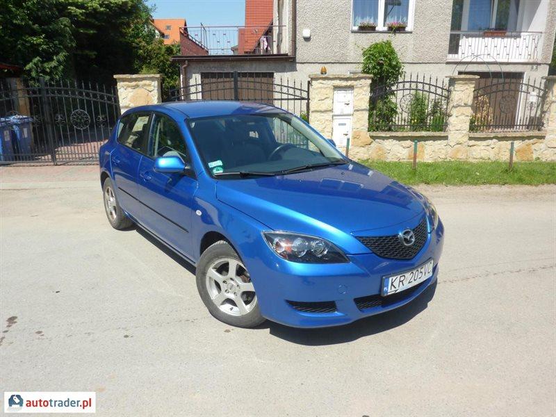 Wybitny Mazda 3 1.6 benzyna 105 KM 2005r. (KRAKÓW) - Autotrader.pl PM38