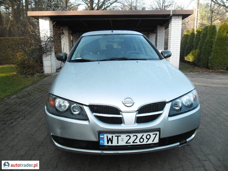 Nissan Almera 2004 1.5 98 KM