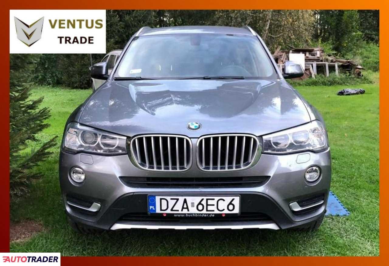 BMW X3 2017 3.0 252 KM