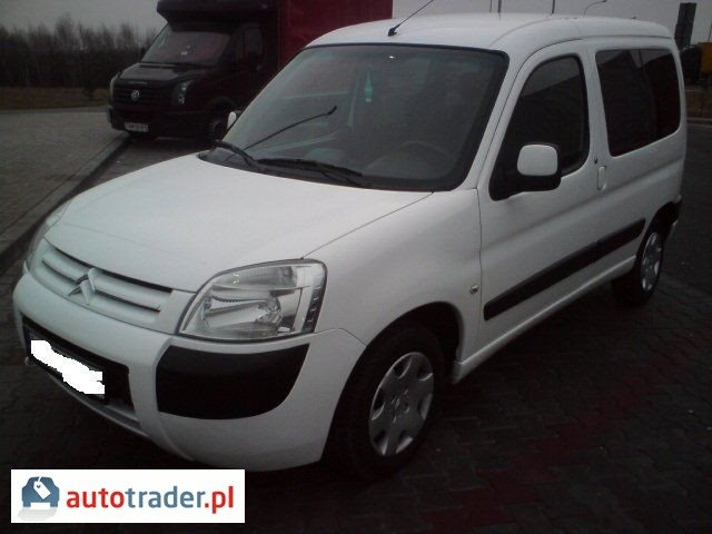 Citroen Berlingo 2007 1.4 75 KM
