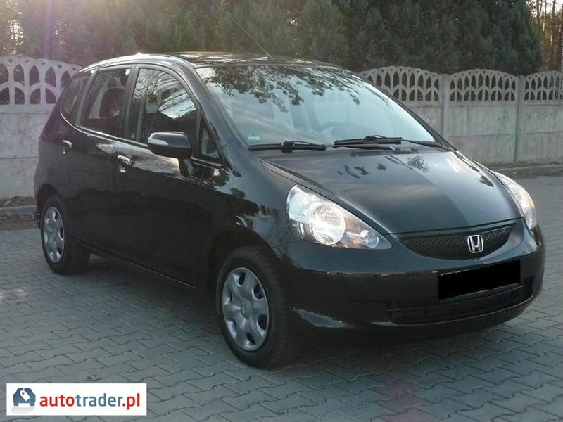 Honda Jazz 2008 hatchback 1.4 83 KM